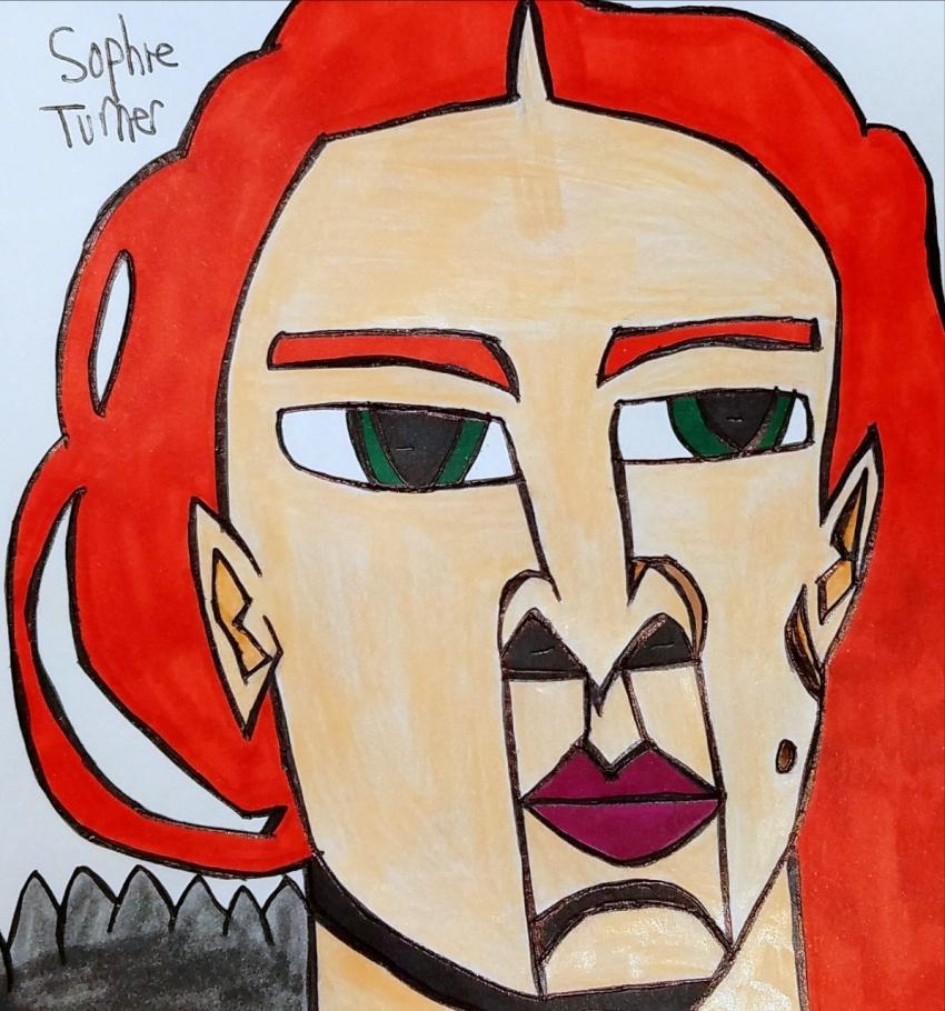 Sophie Turner par armattock